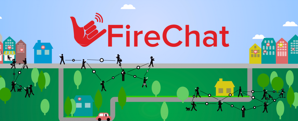 FireChat Chat Off the Grid